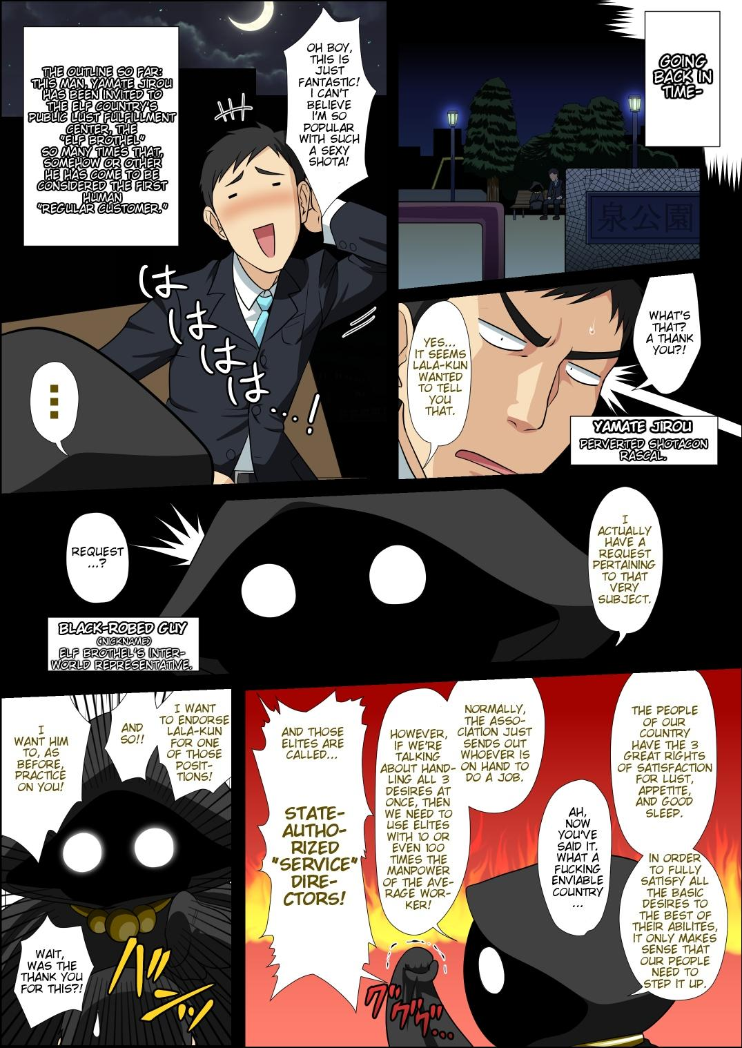 Moshimo Otokonoko Elf ga Wagaya ni Kitara 2