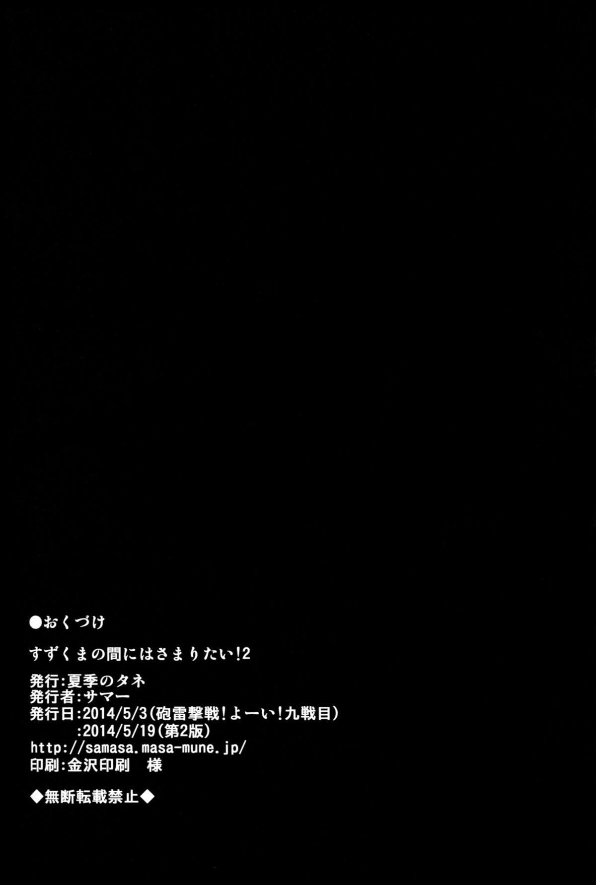 Suzu Kuma no Aida ni Hasamaritai! 2   I Want to be Stuck Between Suzuya and Kumano! 2 20