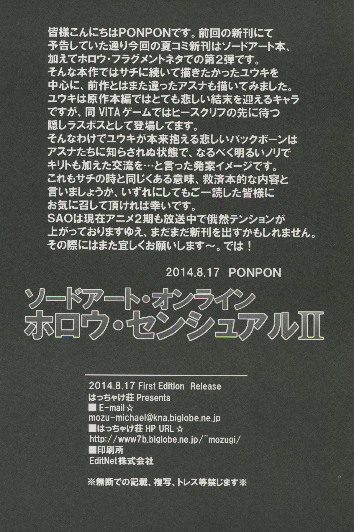 Sword Art Online Hollow Sensual 2 20
