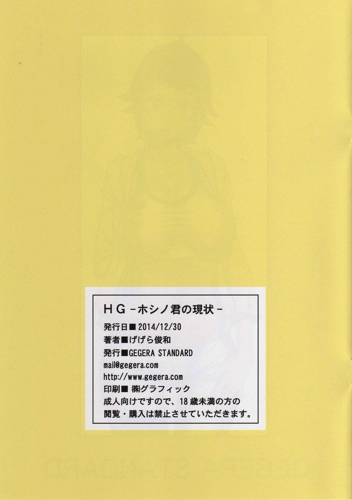 (C87) [GEGERA STANDARD (Gegera Toshikazu)] HG -Hoshino-kun no Genjou- (Gundam Build Fighters Try) 14