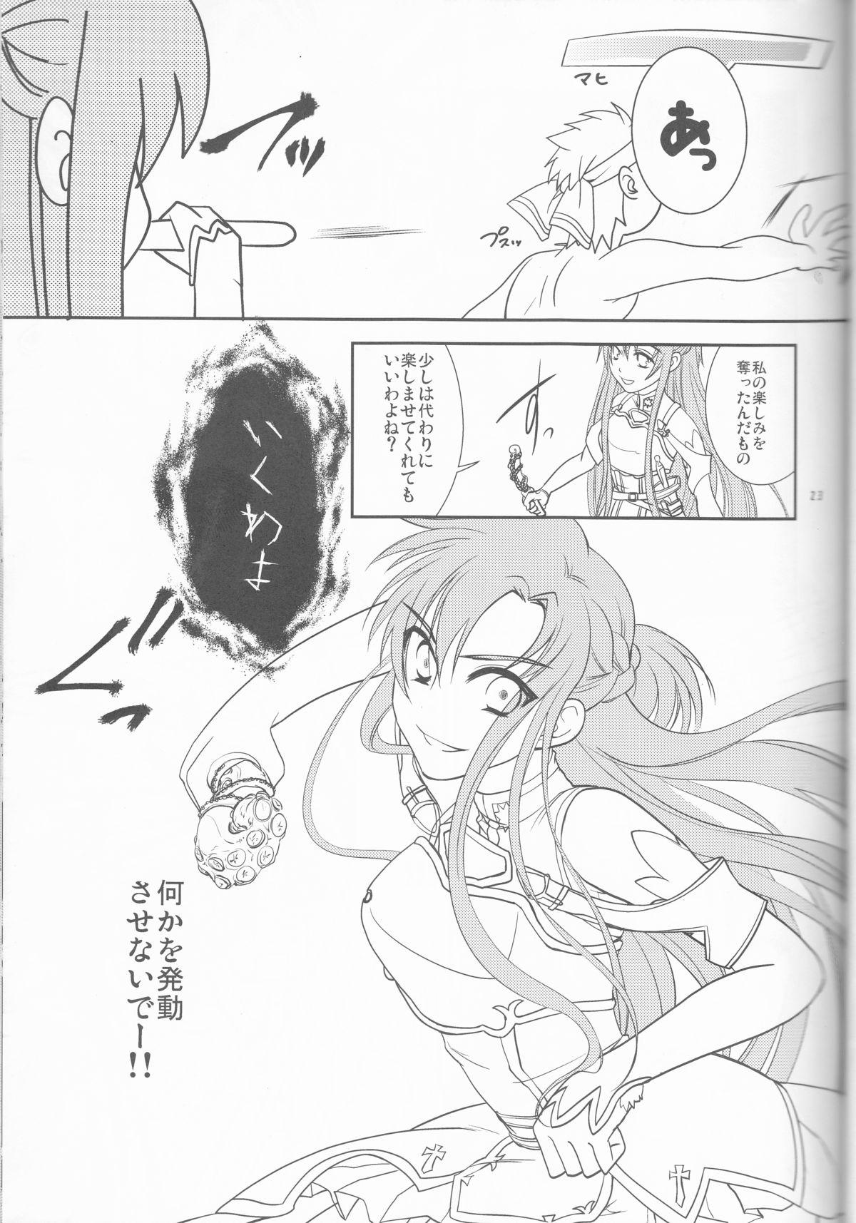 Kirito-kun no shiroku betatsuku nani ka 3 22
