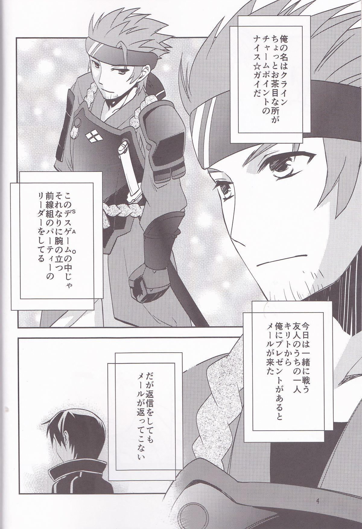Kirito-kun no shiroku betatsuku nani ka 3 3