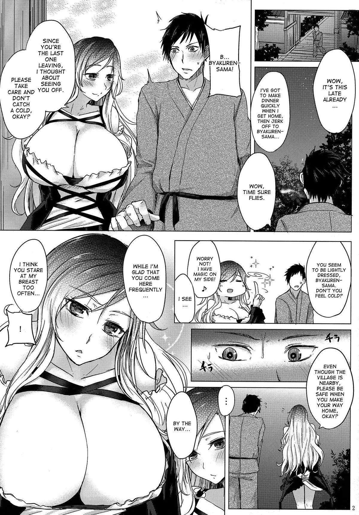 Paizuri ni Korosareru version. Hijiri Byakuren 2