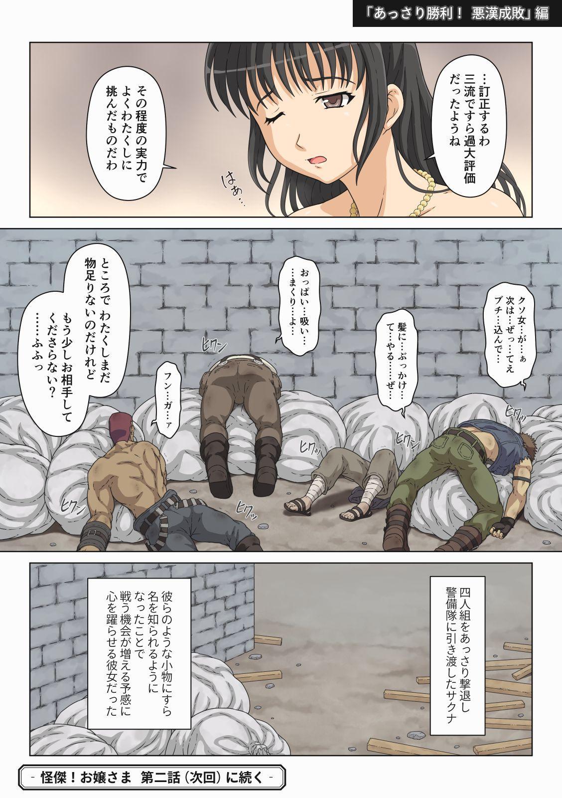 Kaiketsu! Ojou-sama 8