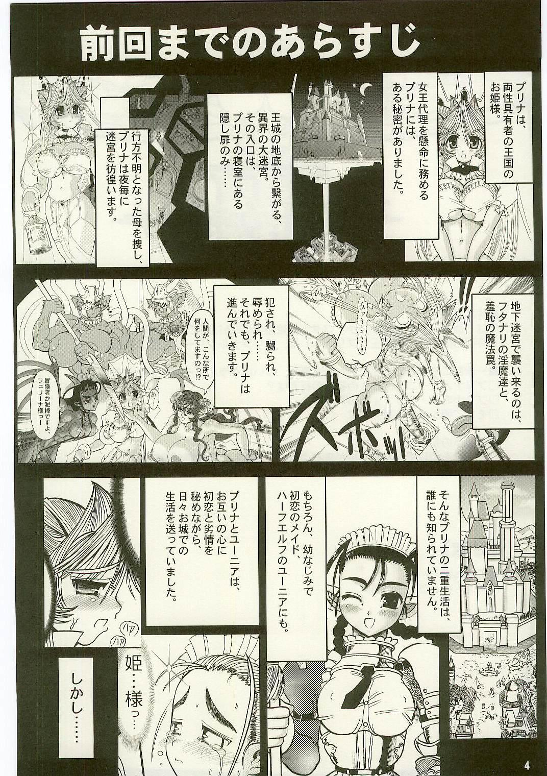 TGWOA Vol.17 - Meikyuu Oujo Prina 3 1