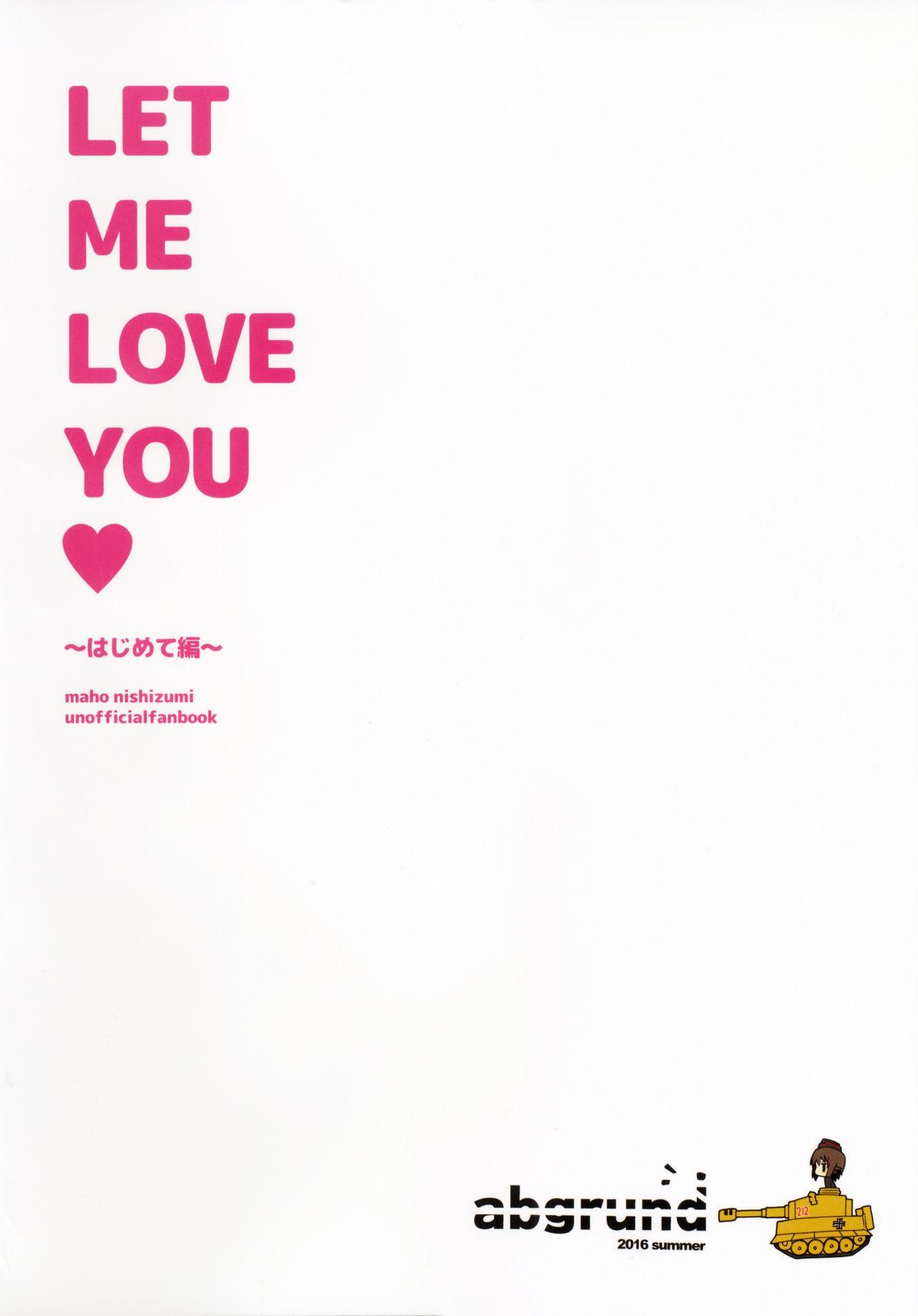 LET ME LOVE YOU hajimete hen 34