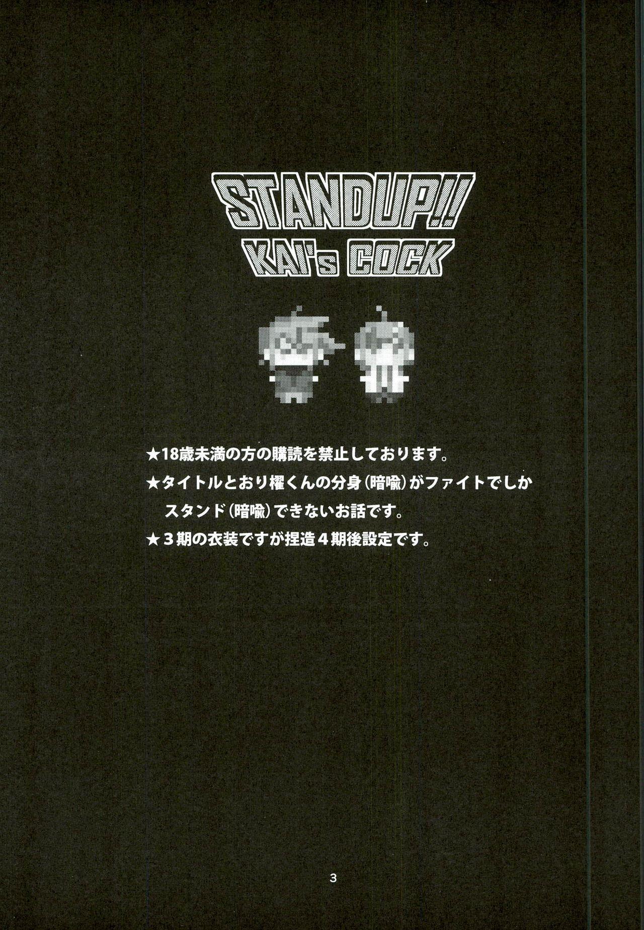Kai-kun no Bunshin wa Fight de Shika Stand Shinai 2