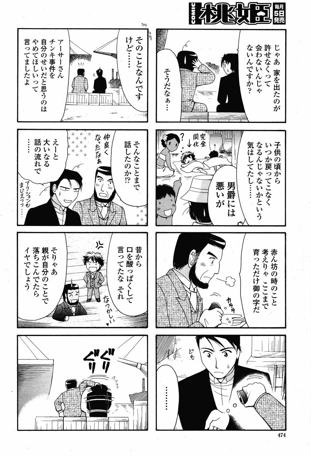 COMIC Momohime 2008-11 475