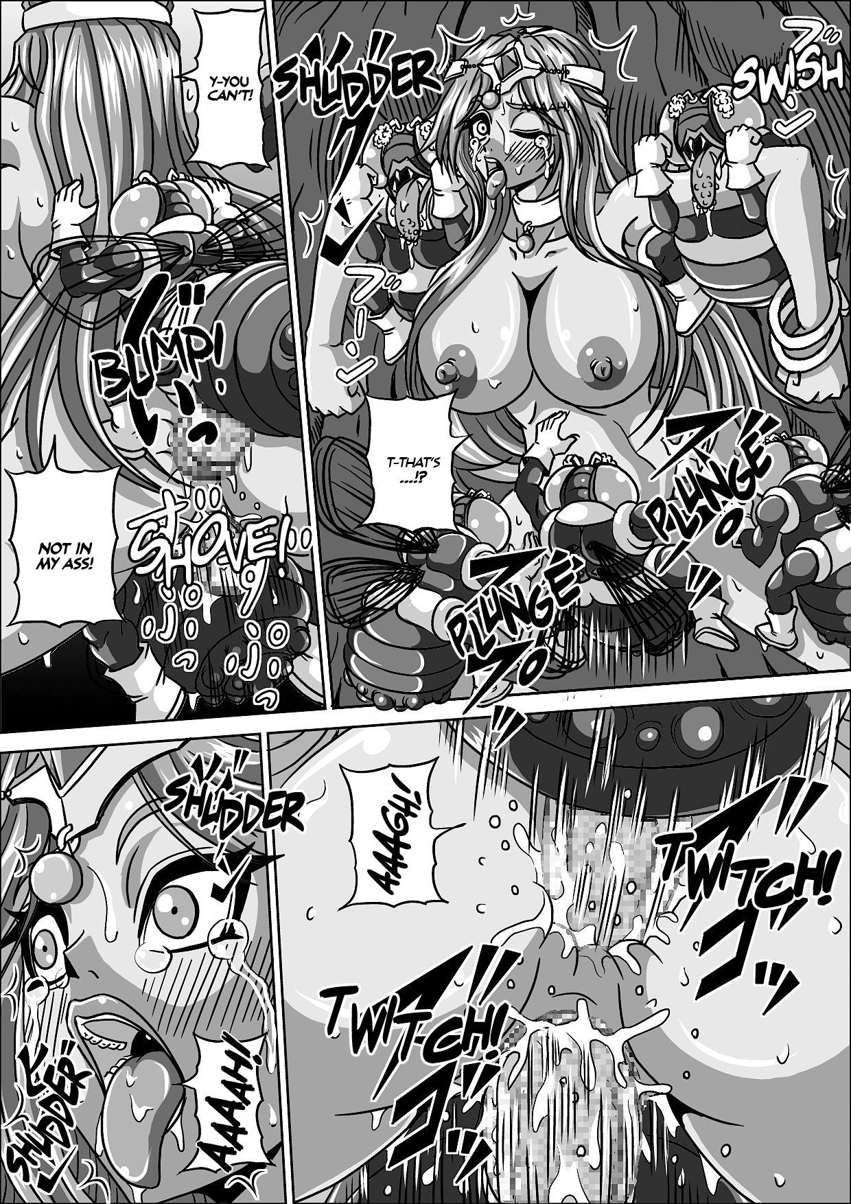Hae Benki Shimai  | Fly Cum-Dump Sisters 13