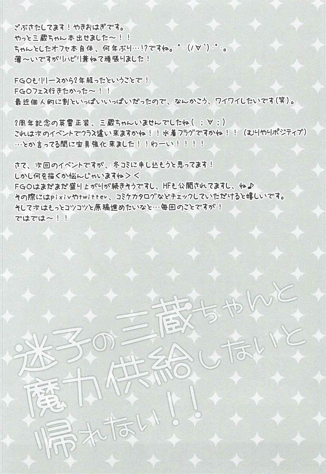 Maigo no Sanzou-chan to Maryoku Kyoukyuu Shinai to Kaerenai!! 2