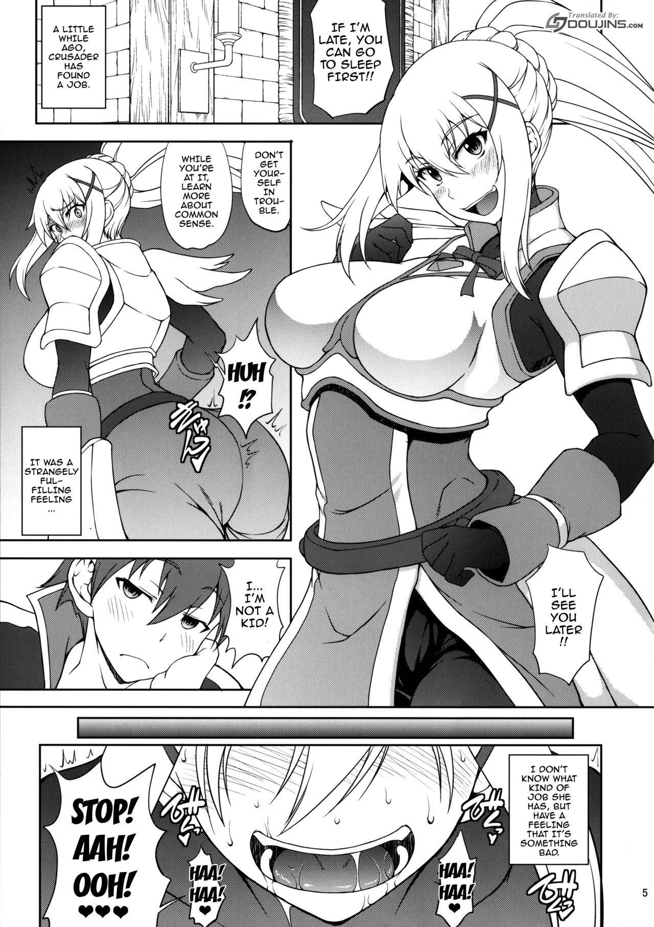 Kono Kuruizaku Junketsu Ni Indou Wo! 3