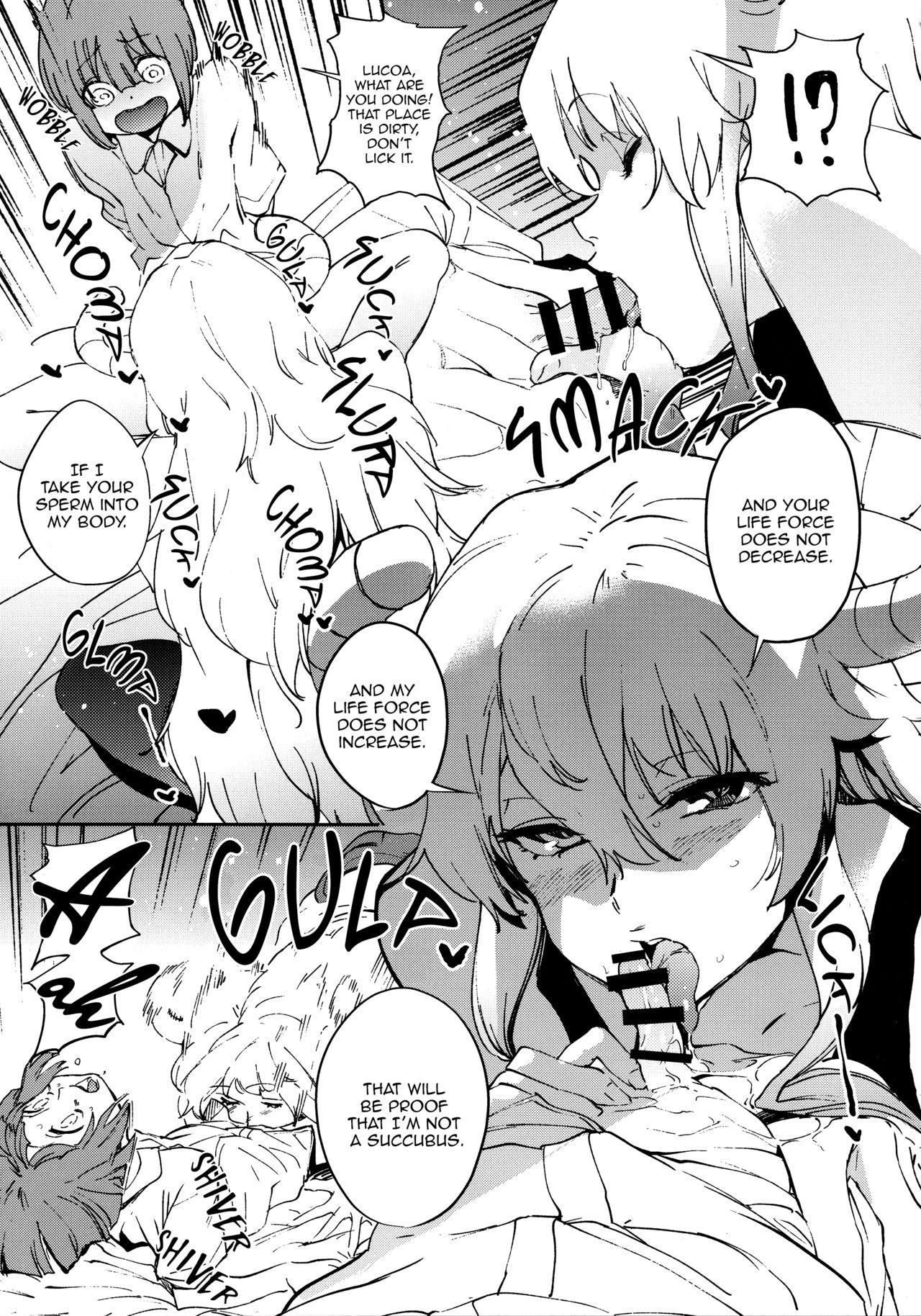 Ishukan Hatsujou Chijogons | One Week in Heat, Slutty Dragons 7