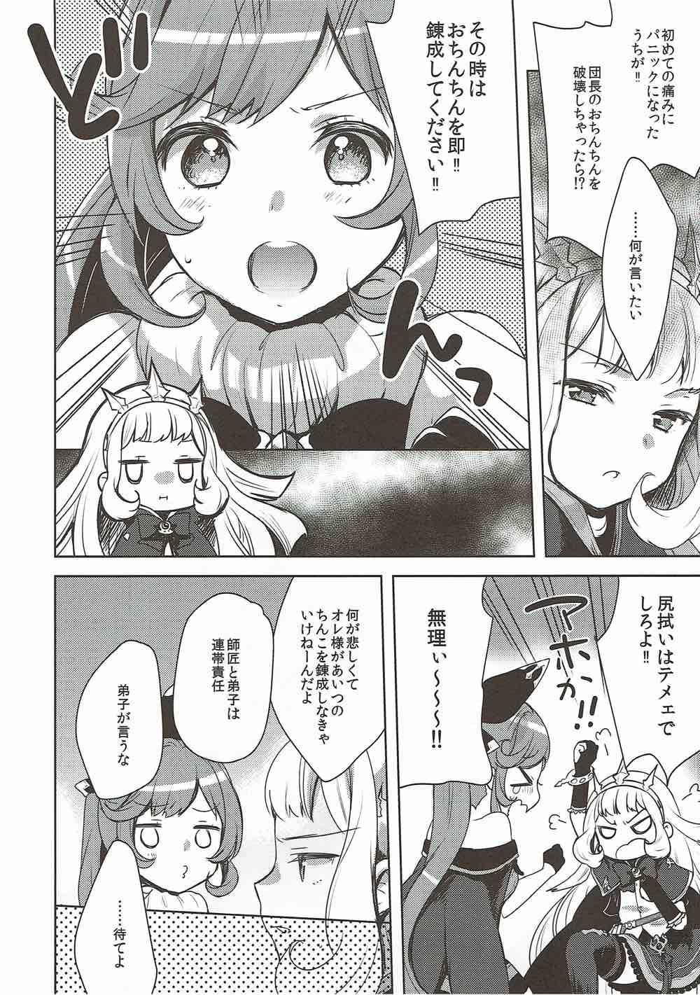Danchou-san to Renkinjutsushi 4