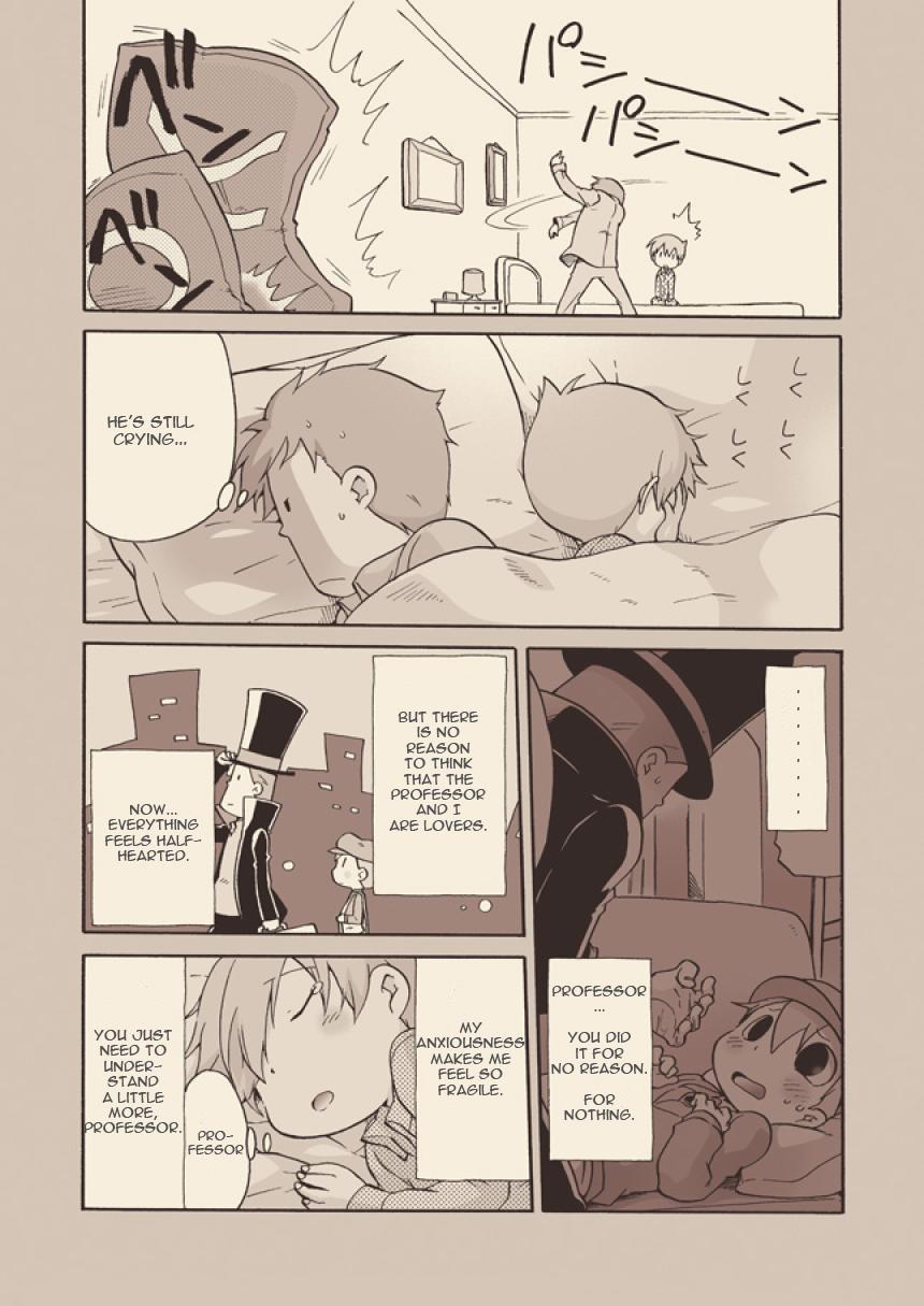 (C74) [M Kichibeya (Uchida Junta)] Luke to Meisou suru Otona (Professor Layton) full version [English] 26