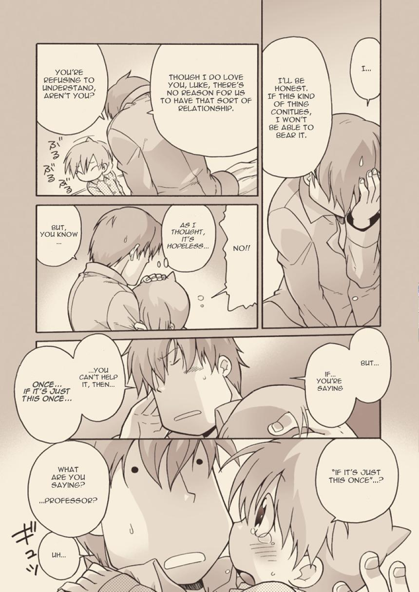 (C74) [M Kichibeya (Uchida Junta)] Luke to Meisou suru Otona (Professor Layton) full version [English] 30