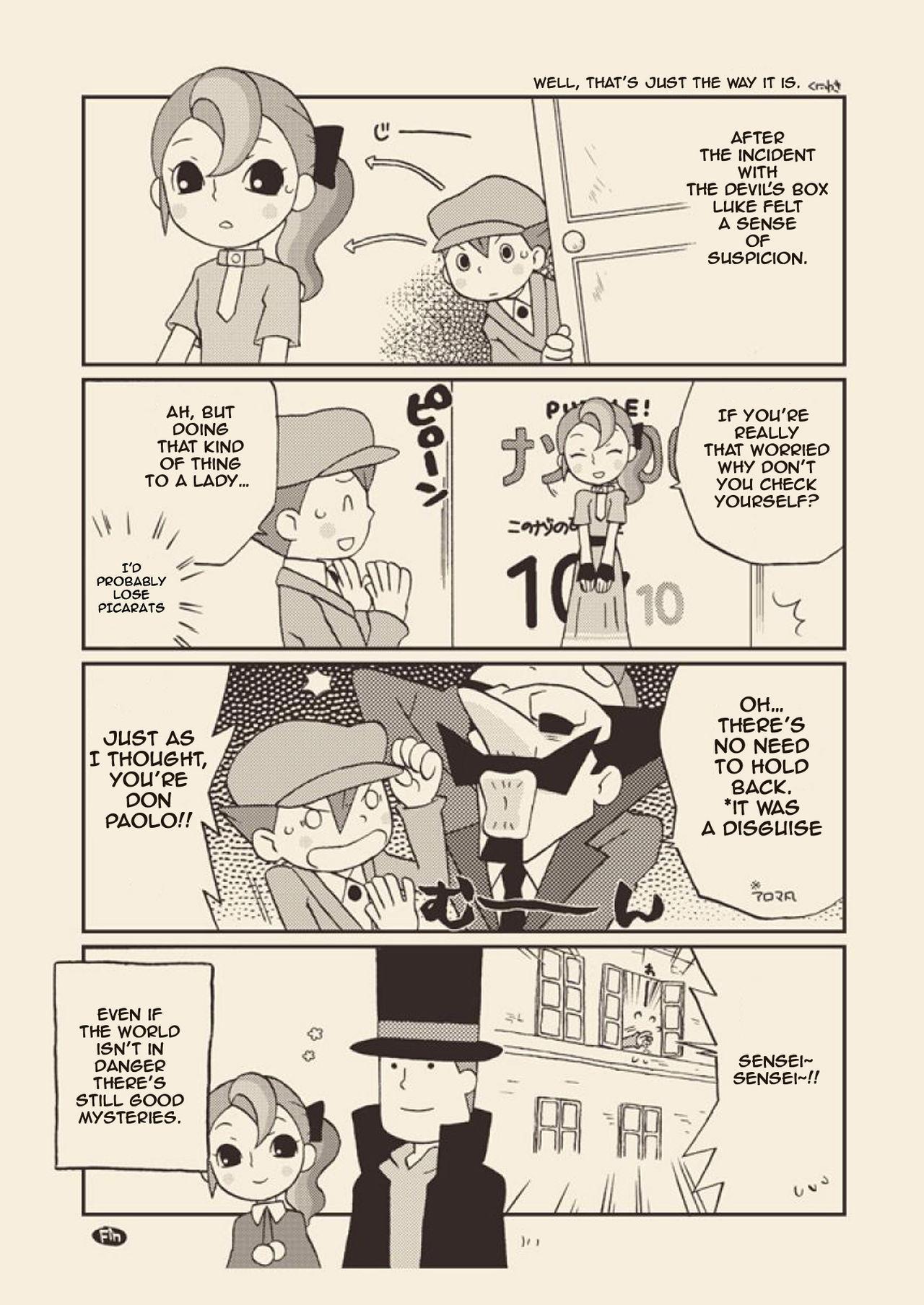 (C74) [M Kichibeya (Uchida Junta)] Luke to Meisou suru Otona (Professor Layton) full version [English] 51
