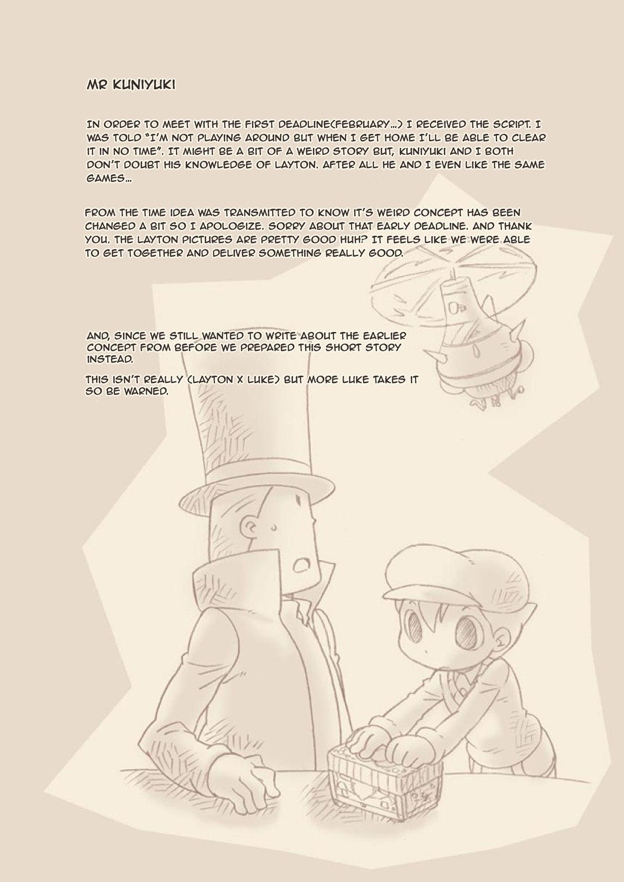 (C74) [M Kichibeya (Uchida Junta)] Luke to Meisou suru Otona (Professor Layton) full version [English] 52