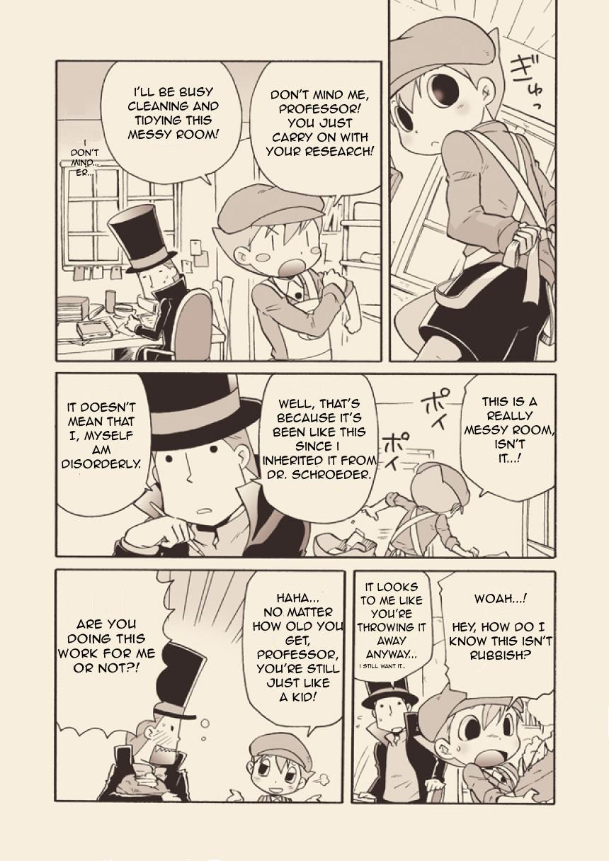 (C74) [M Kichibeya (Uchida Junta)] Luke to Meisou suru Otona (Professor Layton) full version [English] 6