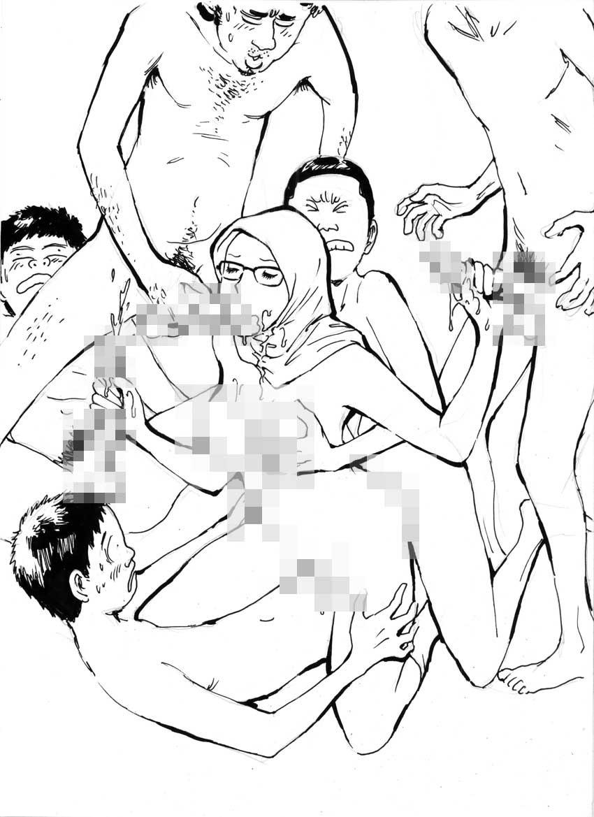 My Wife's Gangrape Fantasy Chapter 3 6