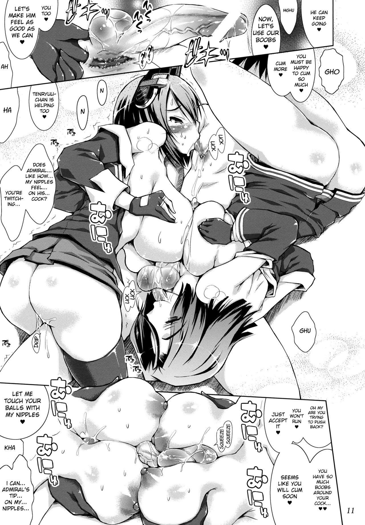 Tenryuugata Keijun Shimai ni Yoru Chinpo Kyousei to Shasei no Shitsuke 10