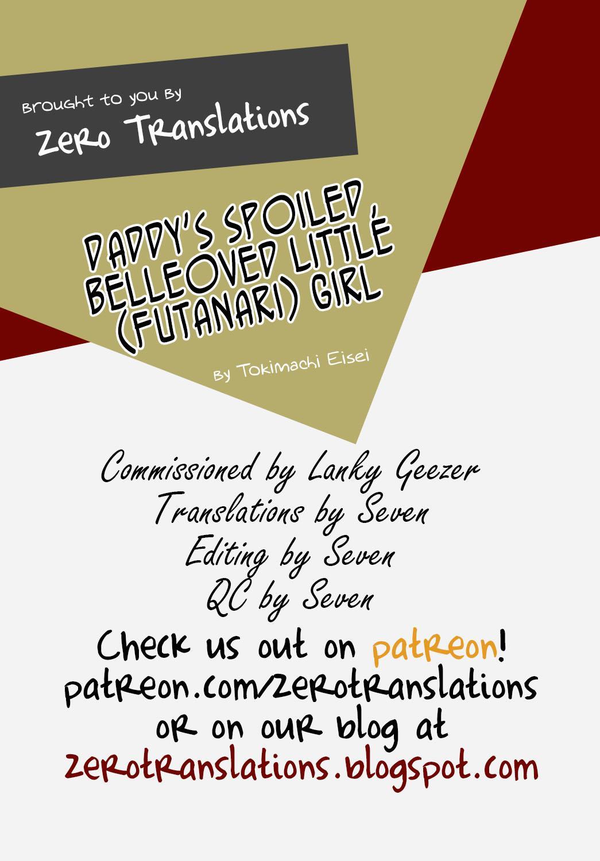 (COMIC1☆10) [Temparing (Tokimachi Eisei)] Papa ni AmaElle Futanari Manamusume | Daddy's Spoiled, BELLEoved Little (Futanari) Girl (Tales of Xillia 2) [English] [Zero Translations] 30