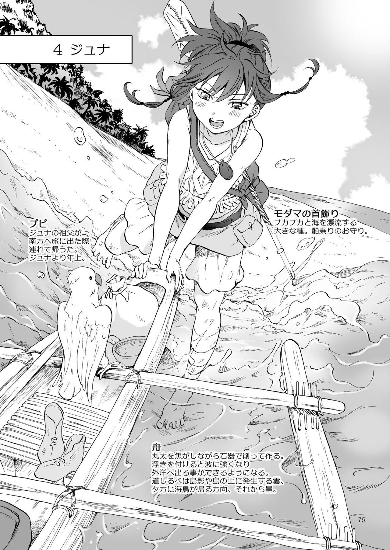 EARTH GIRLS KAZITU Zenpen 74