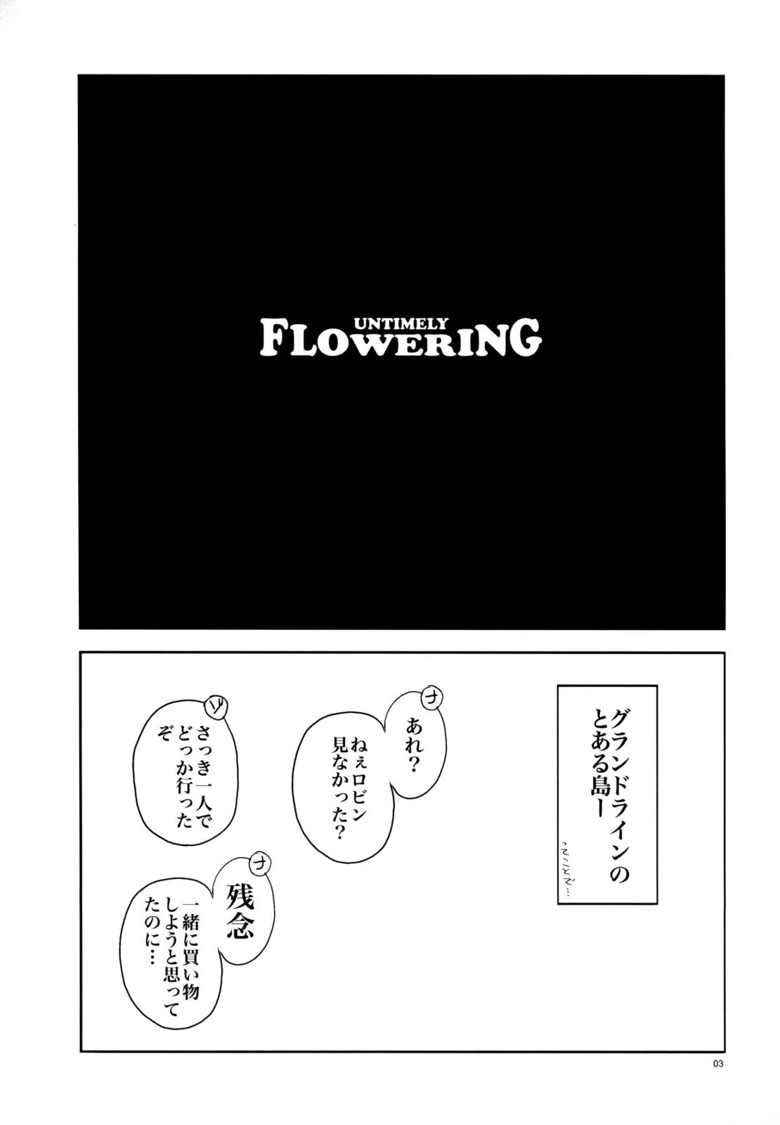 Untimely Flowering 1