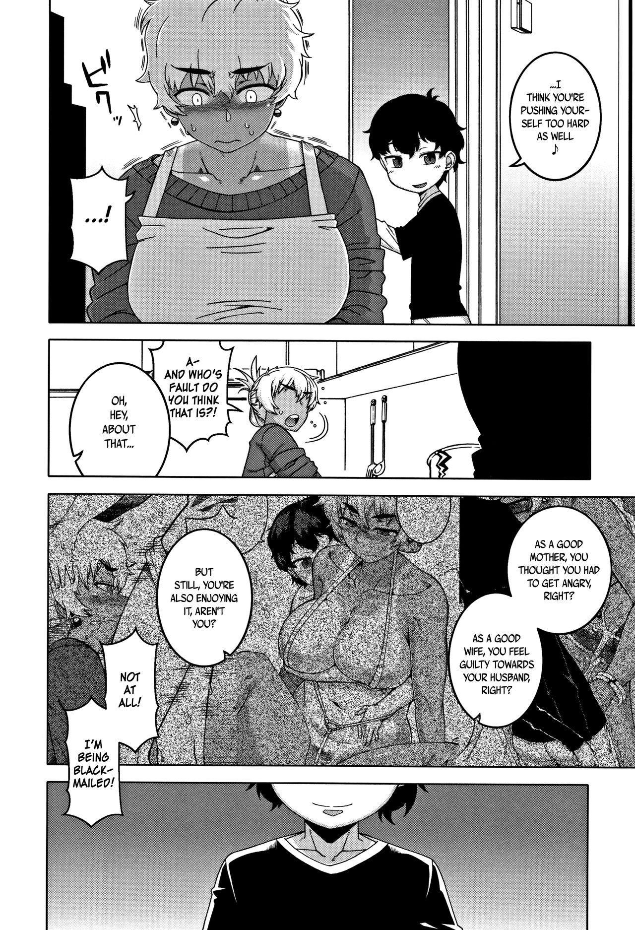 [Takatsu] Hitozuma A-san to Musuko no Yuujin N-kun - Married wife A and son's friend N-kun [English] 151