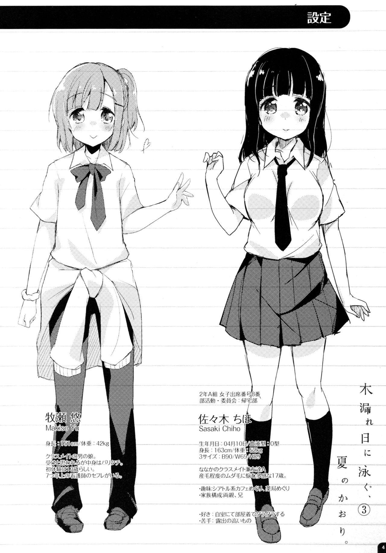 Komorebi ni Oyogu, Natsu no Kaori. 3 4