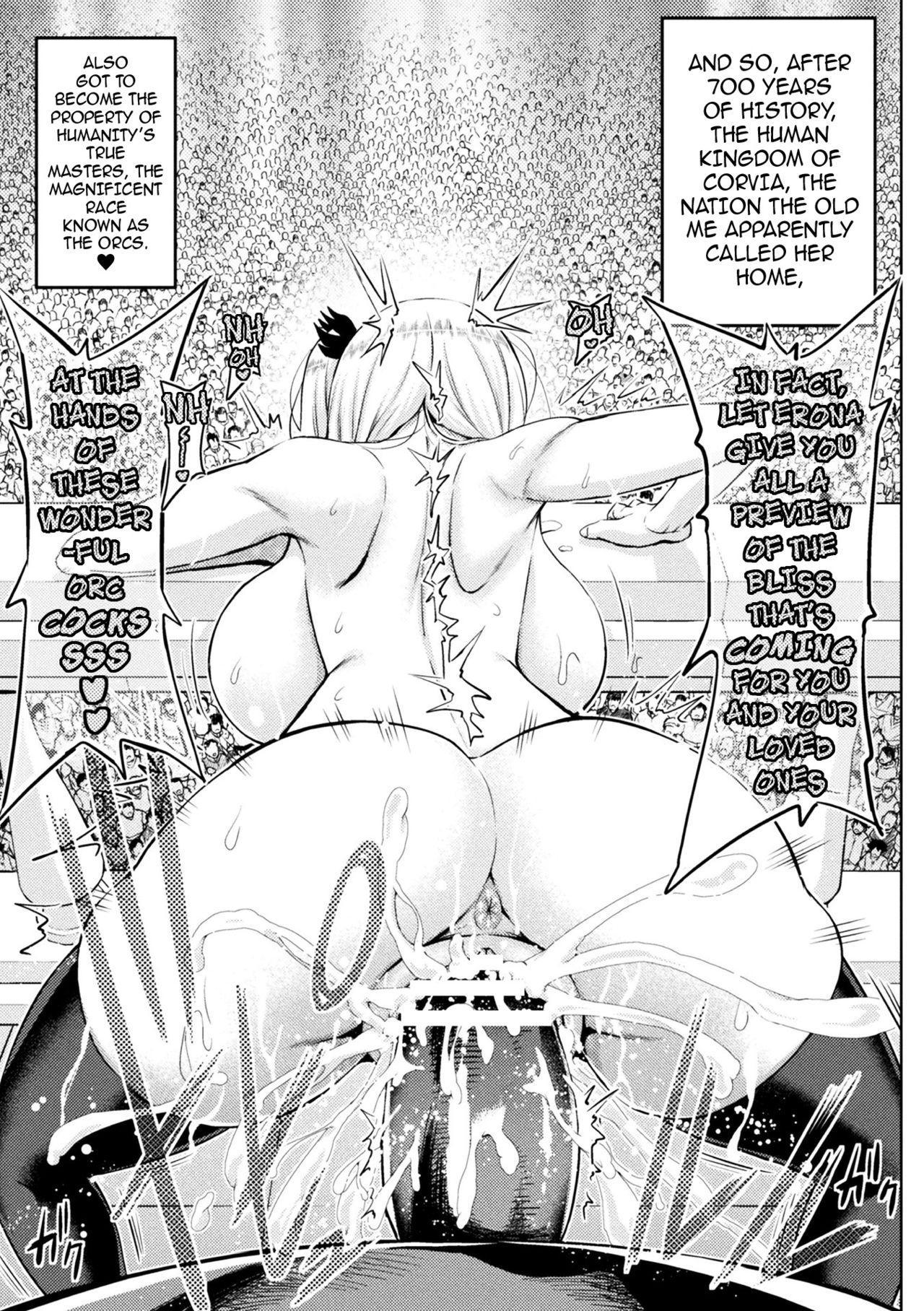 [Yamada Gogogo] Erona ~Orc no Inmon ni Okasareta Onna Kishi no Matsuro~   Erona ~The Fall of a Beautiful Knight Cursed with the Lewd Mark of an Orc~ Ch. 1-6 [English] {darknight} 103