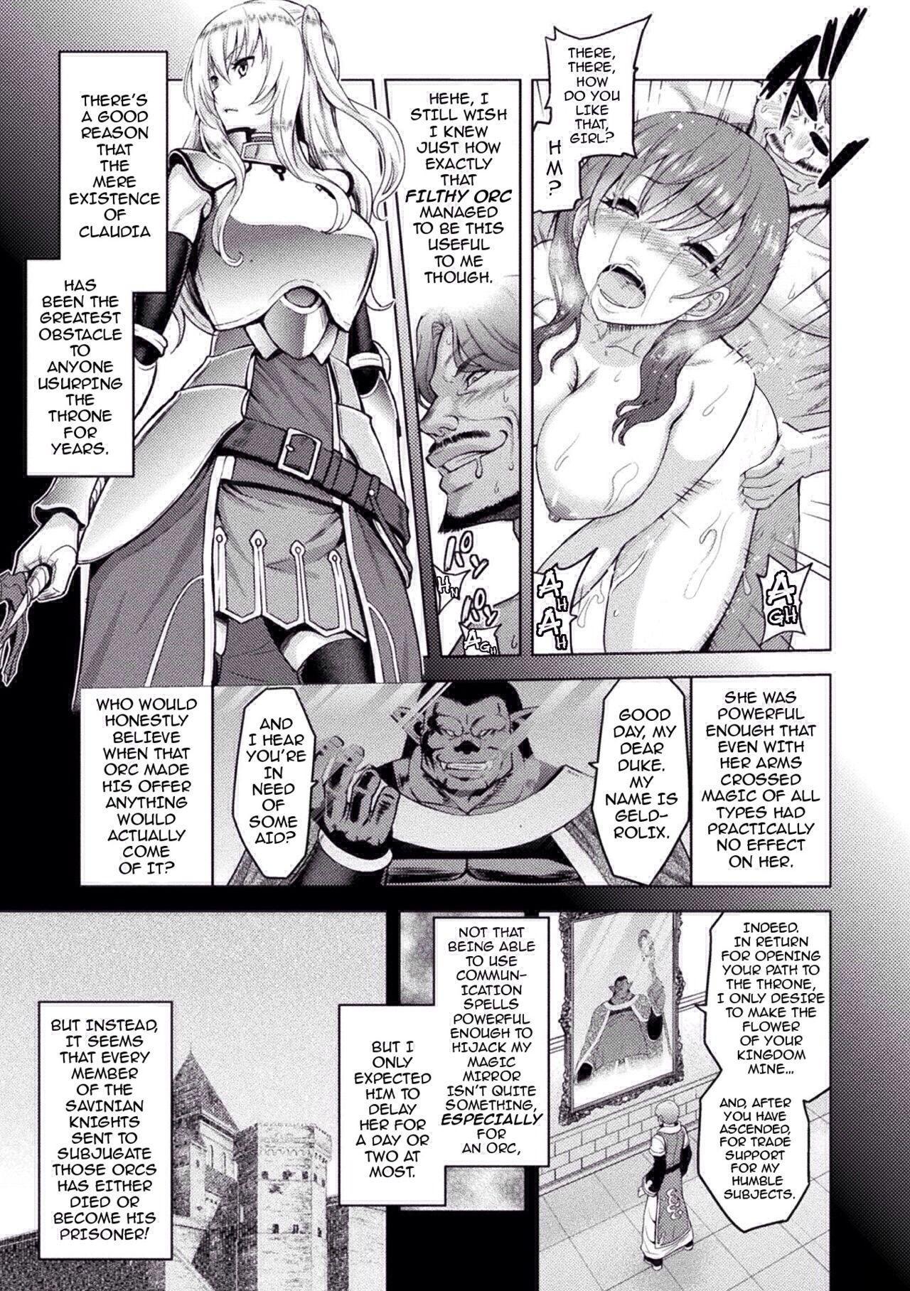 [Yamada Gogogo] Erona ~Orc no Inmon ni Okasareta Onna Kishi no Matsuro~ | Erona ~The Fall of a Beautiful Knight Cursed with the Lewd Mark of an Orc~ Ch. 1-6 [English] [darknight] [Decensored] [ongoing] 76