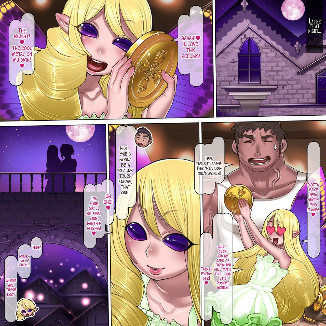 Kuromajo no Koukotsu   The Black Witch's Ecstasy 11