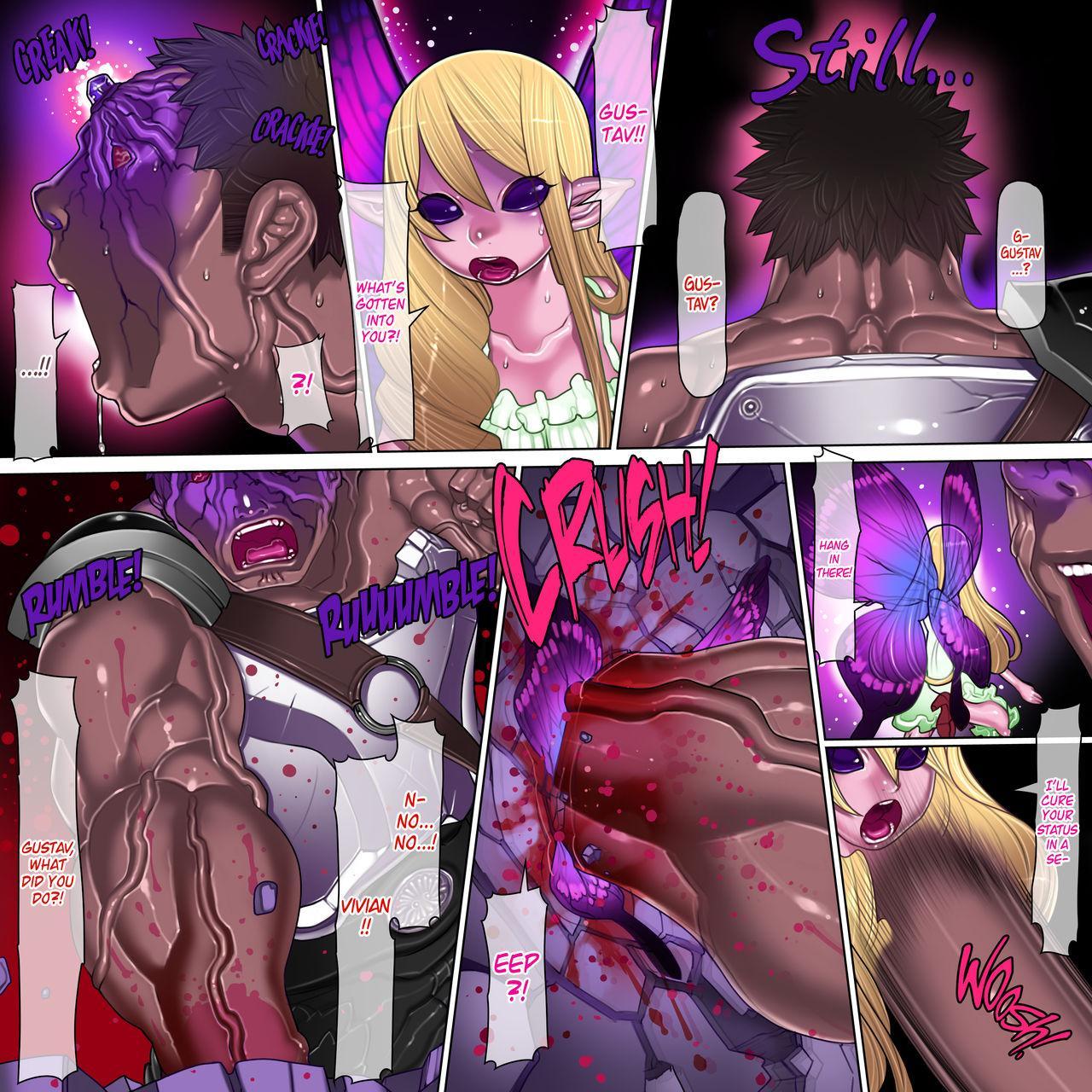 Kuromajo no Koukotsu   The Black Witch's Ecstasy 36