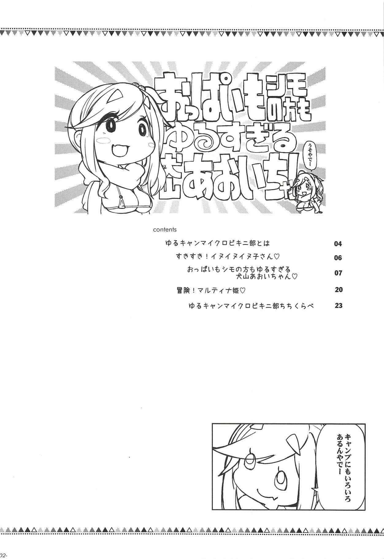 Oppai mo Shimo no Hou mo Yurusugiru Inuyama Aoi-chan 2