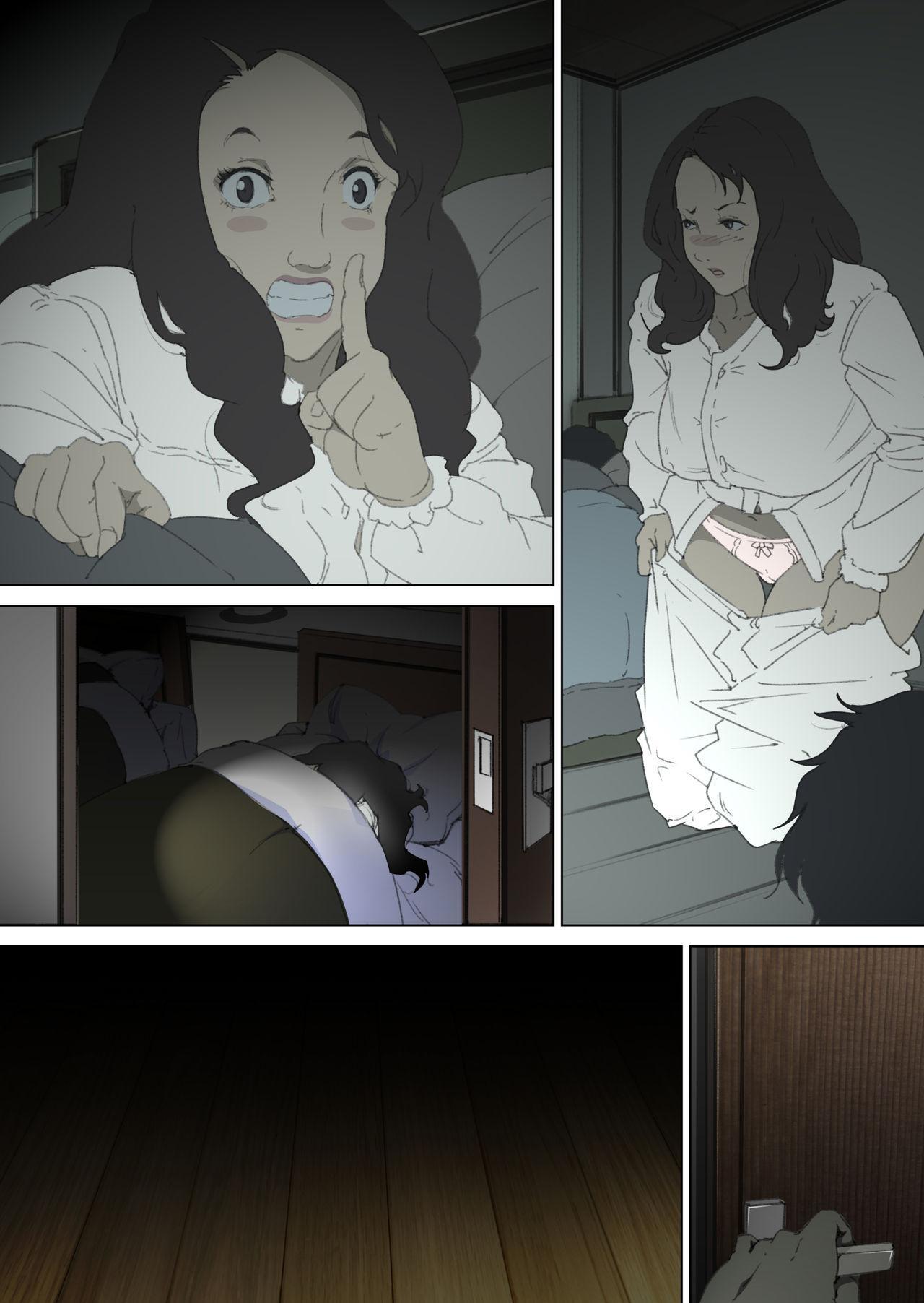 Ryoushin ga Neteiru Shinshitsu ni Shinobikomi, Hahaoya ni Yobai o Kakeru Musuko no Hanashi. 37