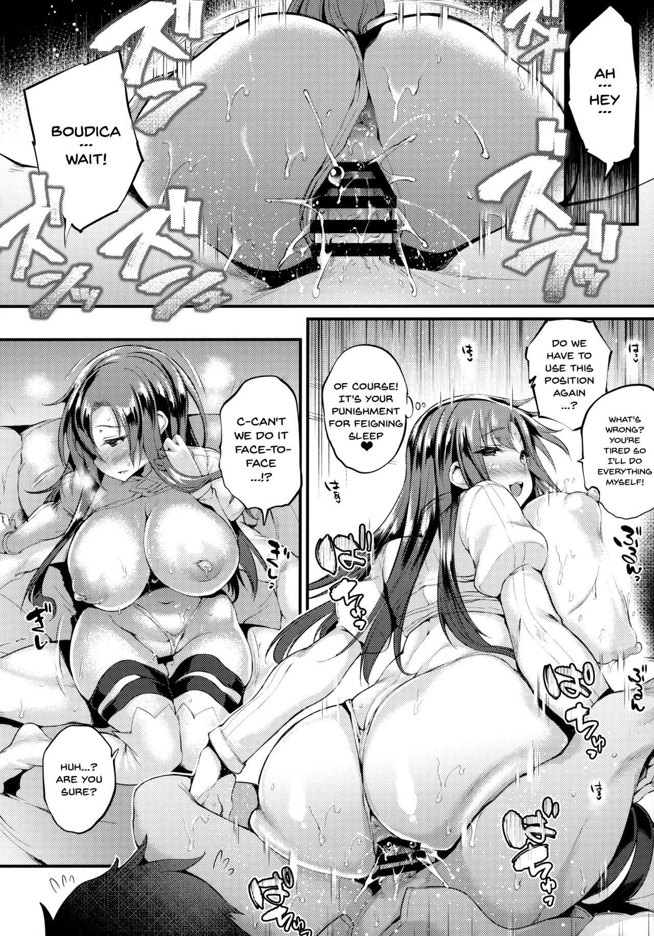 "(COMIC1☆13) [Mata Ashita. (Oohira Sunset)] Boudica-san ""Shiyo."" | Boudica-san Let's ""Do it"" (Fate/Grand Order) [English] {Doujins.com} 14"