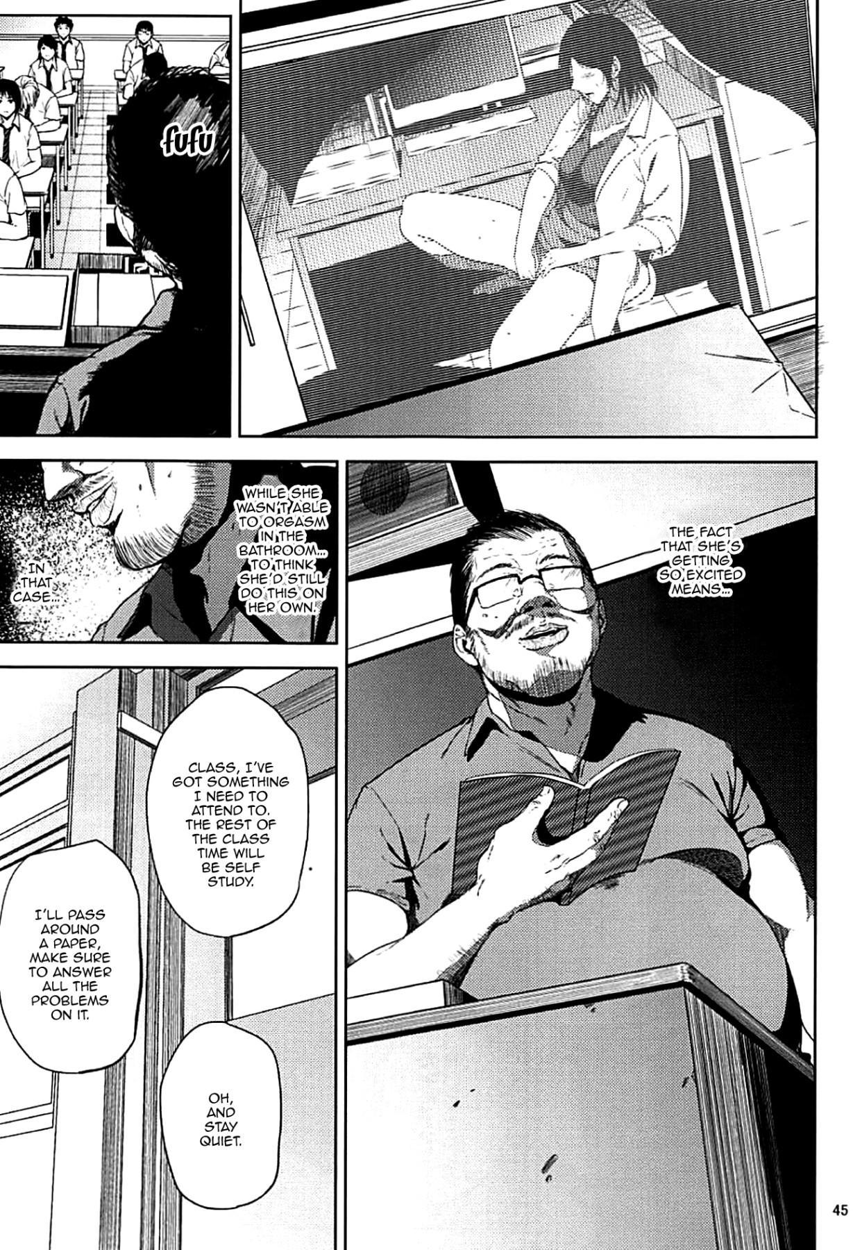 (C93) [Gossipgothic (Shishiji)] Kurashiki-sensei wa Hatsujouki Soushuuhen FINAL   Kurashiki Sensei's Mating Season Final Ch.1-2 (Fujiyama-san wa Shishunki) [English] {Doujins.com} [Incomplete] 43