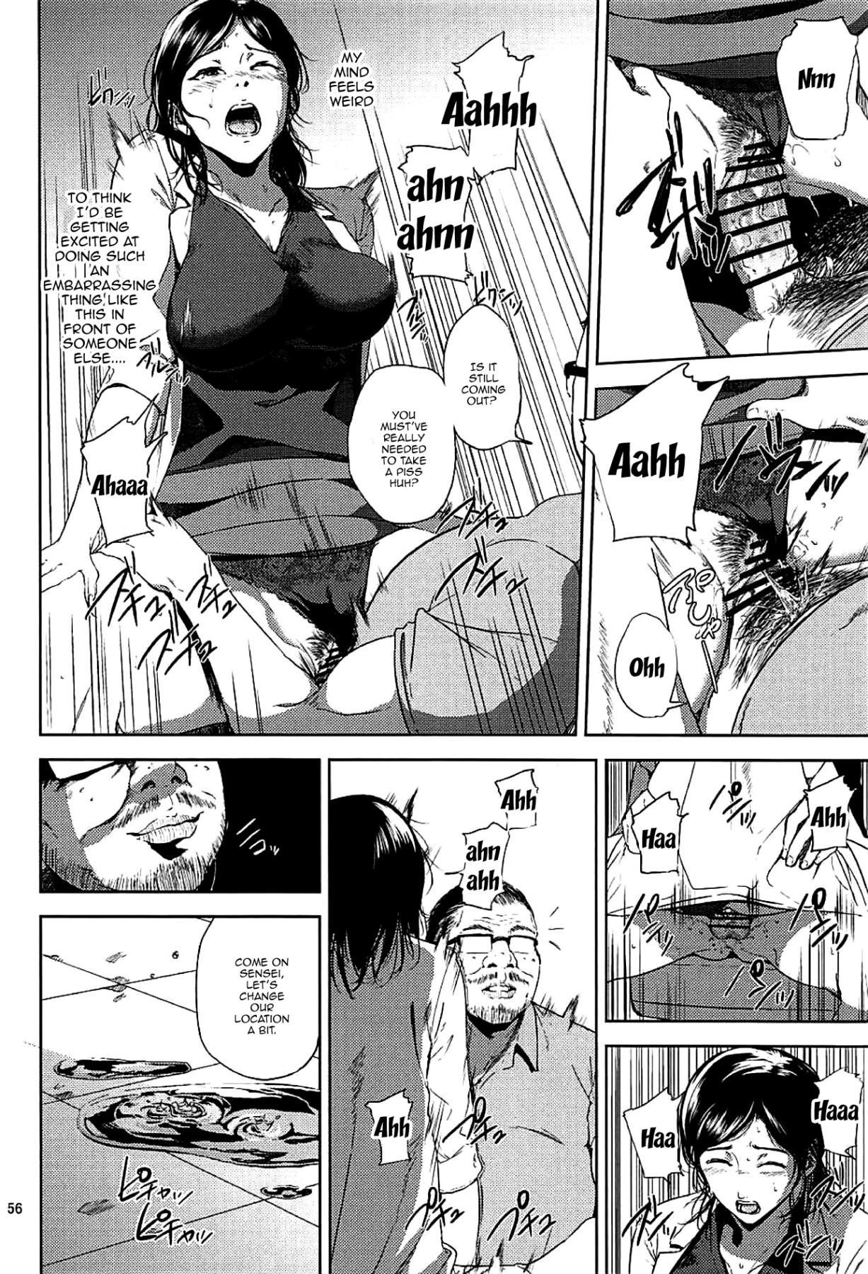 (C93) [Gossipgothic (Shishiji)] Kurashiki-sensei wa Hatsujouki Soushuuhen FINAL   Kurashiki Sensei's Mating Season Final Ch.1-2 (Fujiyama-san wa Shishunki) [English] {Doujins.com} [Incomplete] 54