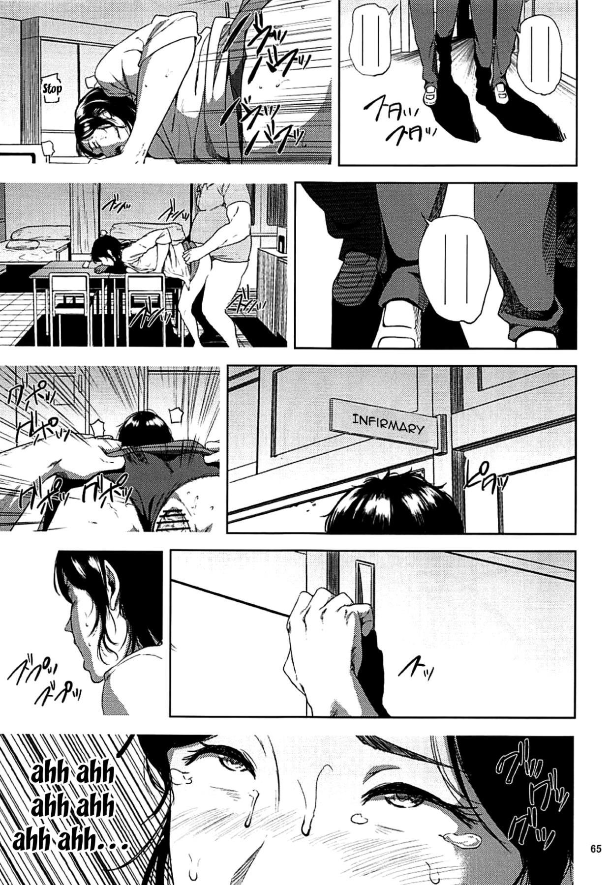 (C93) [Gossipgothic (Shishiji)] Kurashiki-sensei wa Hatsujouki Soushuuhen FINAL   Kurashiki Sensei's Mating Season Final Ch.1-2 (Fujiyama-san wa Shishunki) [English] {Doujins.com} [Incomplete] 63
