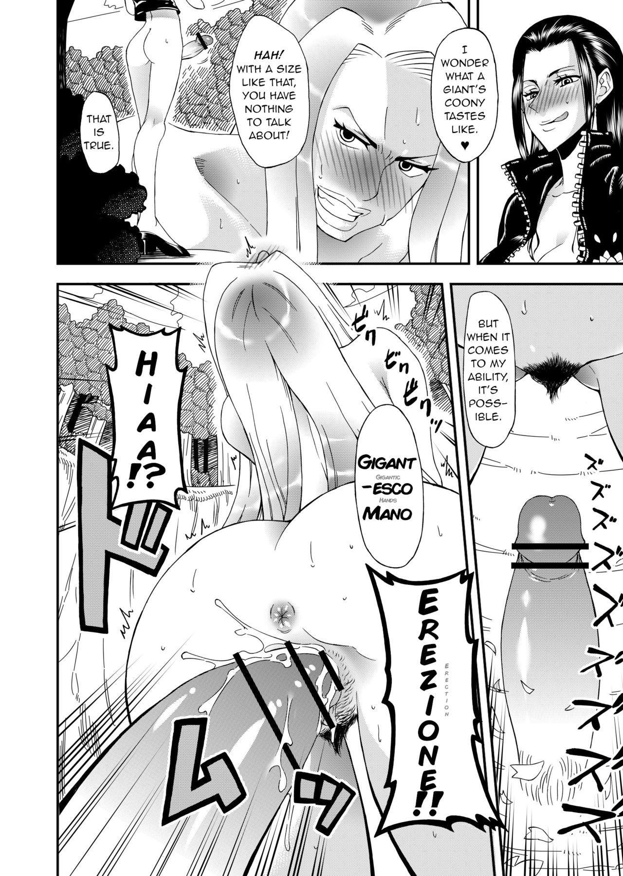 Futanari Robin VS Onna Kyojin Kaihei 8