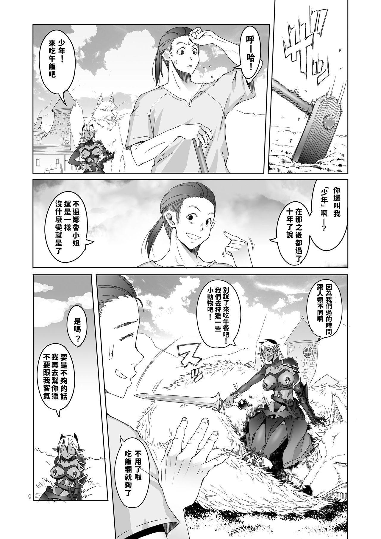 Dark Elf to Yorozu no Zenkou 8
