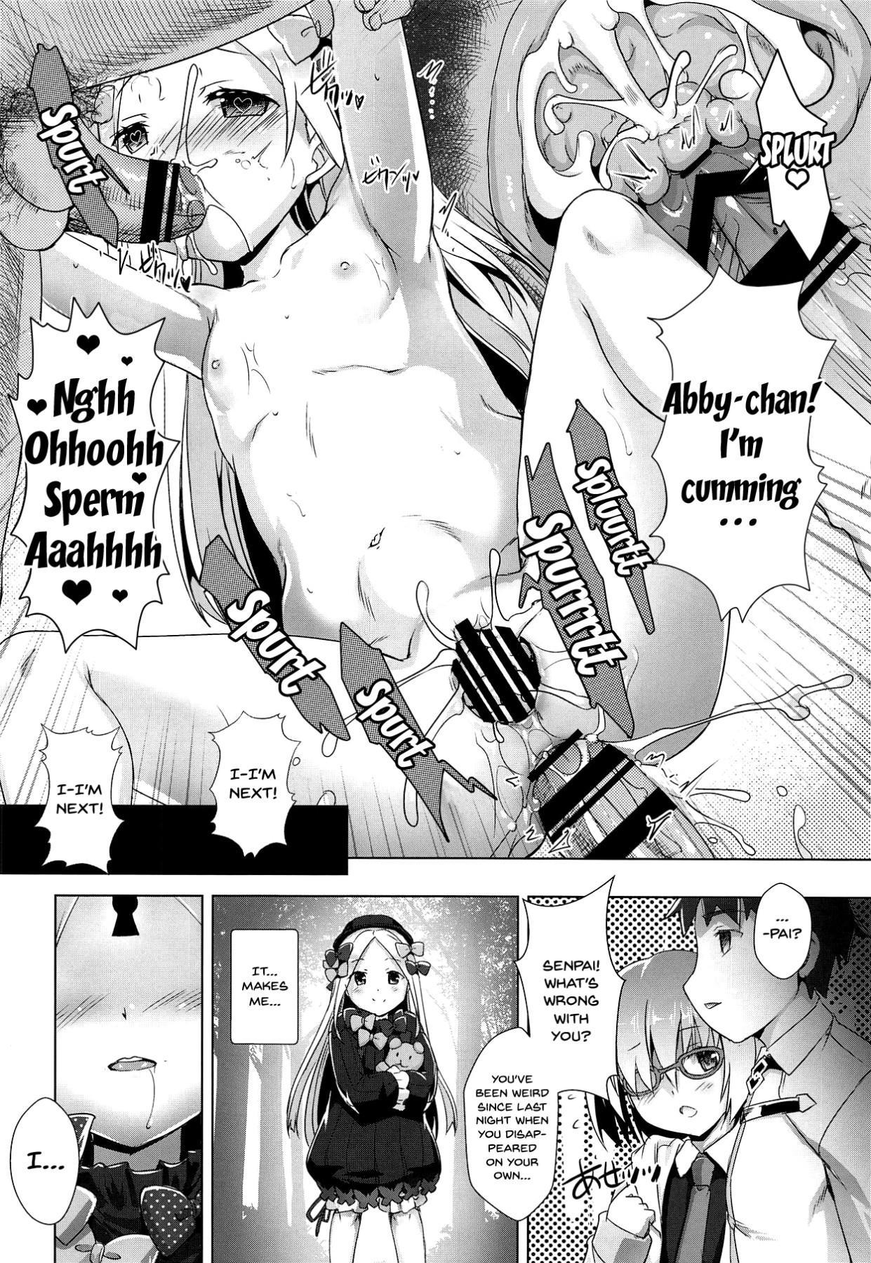 (C95) [Studio Rakkyou (Takase Yuu, Ashisyun)] Abby-chan Guilty - Abigail the Naughty girl (Fate/Grand Order) [English] {Doujins.com} 12
