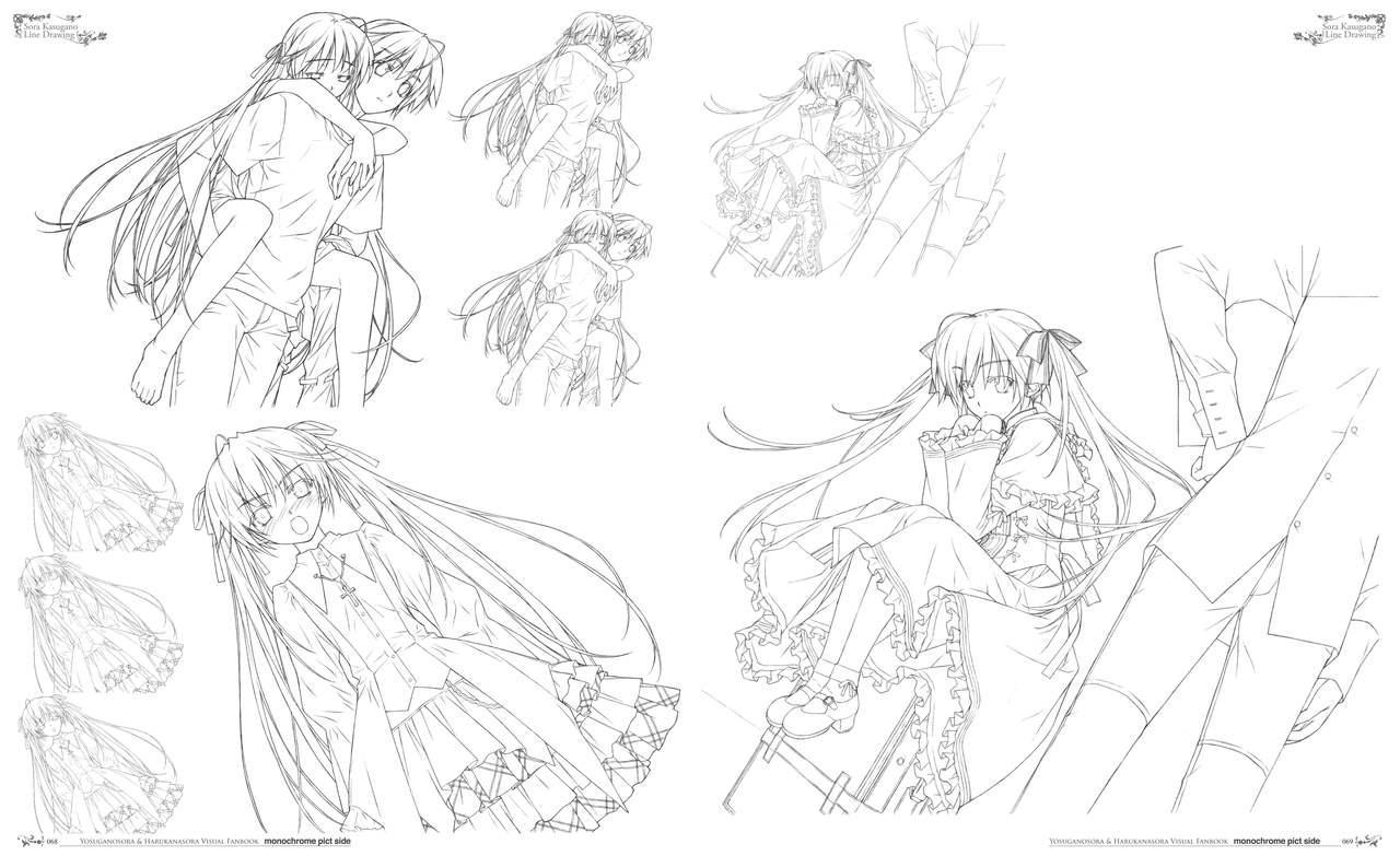Yosuga no Sora Visual Fanbook 38