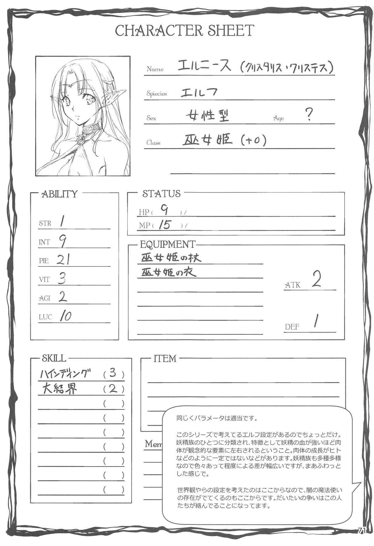 Ryman Fantasy Kuro no Ryman Soushuuhen 70