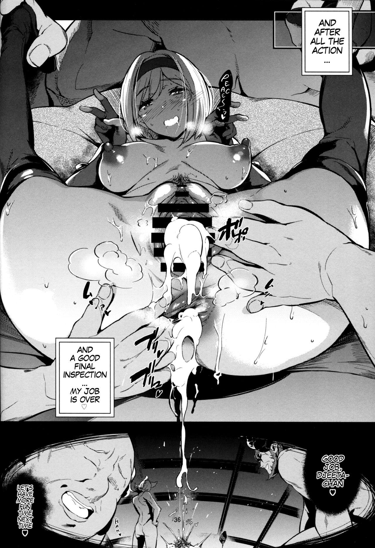 Gran Nyuu Fantasy Side G Shoujo D | Gran Boob Fantasy Side G Miss D 35
