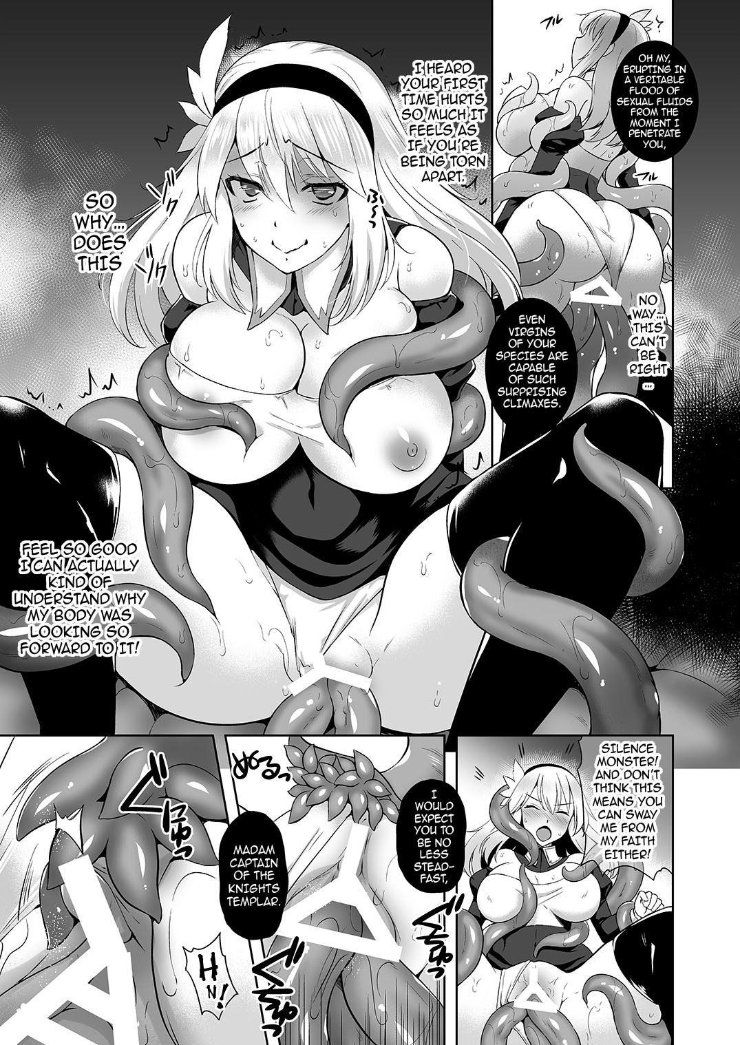 [Chococornet (Tenro Aya)] Falling - Mashoku no Sennou Dorei   Falling - Brainwashed Slave of the Great Wurm [English] {darknight} [Digital] 9