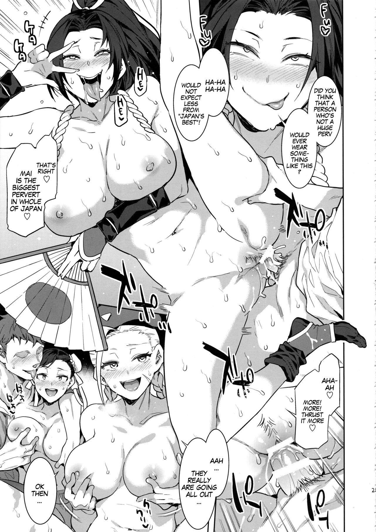 Kakutou Musume Yarimoku Goukon | Casual Sex Party With Fighting Game Gals 23