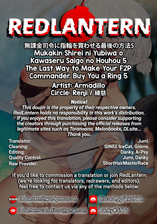 Mukakin Shirei ni Yubiwa o Kawaseru Saigo no Houhou 5 | The Last Way to Make Your F2P Commander Buy You a Ring 5 29
