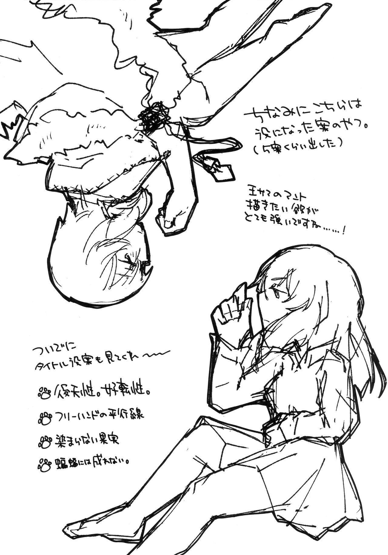 Neko ni naritakatta Tora. Tora o aishita Byakko. 71