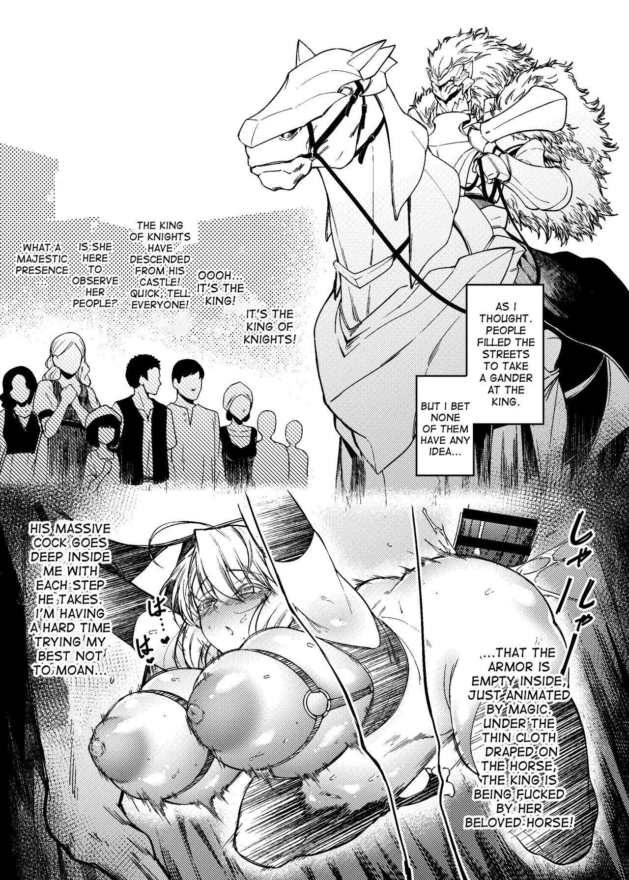 Hakuba ni Norareru Kishi 3 | White Horse Riding a Knight 3 8